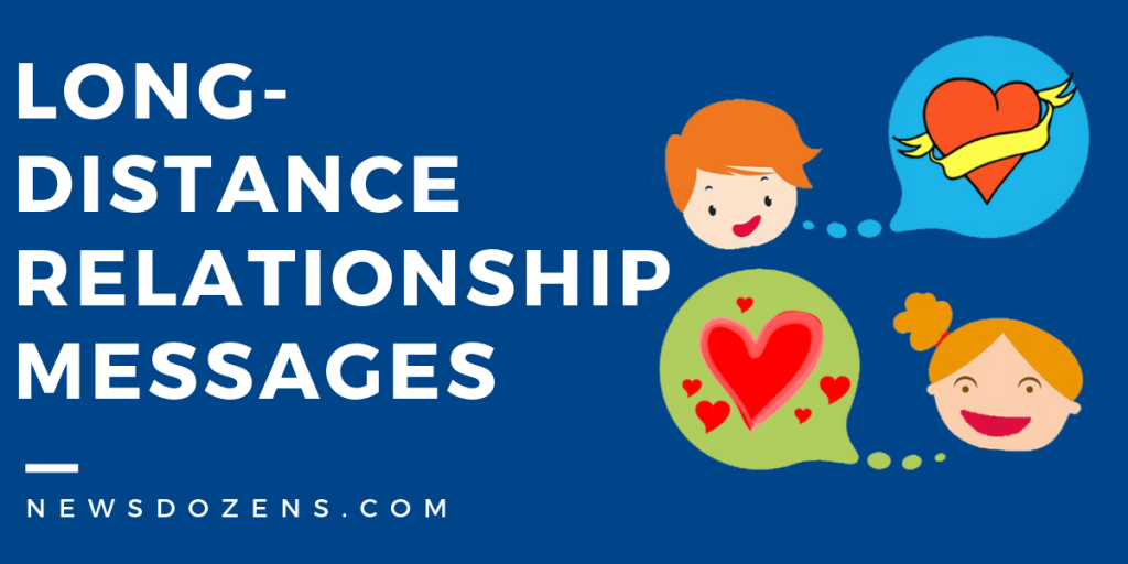 Long-distance relationship messages to write to your partner
